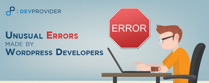 Unusual errors made by WordPress developers